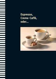 CINO XS Coffee Shop, wenn für jeden Geschmack ... - Brogle GmbH