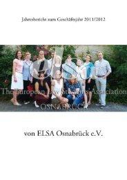 Jahresbericht ELSA 2 - ELSA Germany