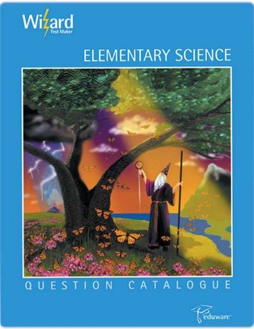 Elementary Science Question Catalogue Preview - Eduware