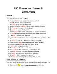 FSF 2D-revue pour l'examen CORRECTION - madame-underhill