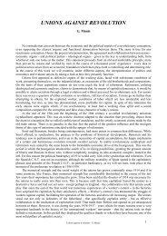 UNIONS AGAINST REVOLUTION - La Bataille socialiste