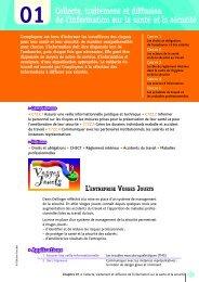 Collecte, traitement et diffusion de l'information sur la santé ... - Decitre