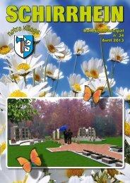 Bulletin municipal n° 34 Avril 2013 - Schirrhein