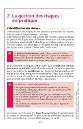 7. La gestion des risques : en pratique - Decitre