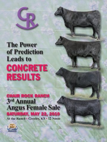 CONCRETE RESULTS - Angus Journal