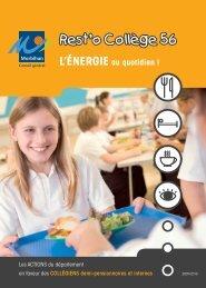 Rest'o Collège 56 - Conseil général du Morbihan
