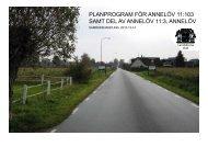 Planprogram - Landskrona kommun