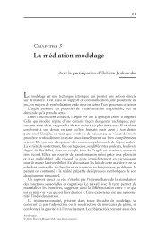 La médiation modelage - Decitre