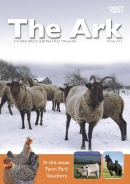 In this issue: Farm Park Vouchers - Rare Breeds Survival Trust