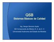 Sistemas Básicos de Calidad - Grid Morelos - Universidad ...