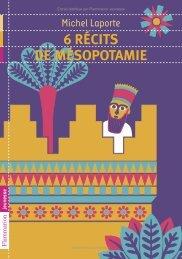 6 récits de Mésopotamie - Decitre