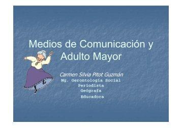 Medios de Comunicación y Adulto Mayor - Concortv