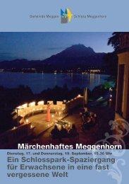 Märchenhaftes Meggenhorn Ein Schlosspark-Spaziergang für ...