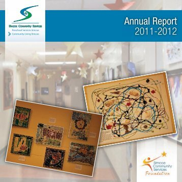 Annual Report 2011-2012 - Simcoe Community Services