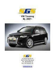 VW Touareg Bj. 2007- - SGS