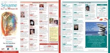 depliant 2006 - Le Souffle d'Or