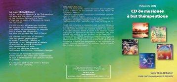 CD de musiques à but thérapeutique - Le Souffle d'Or