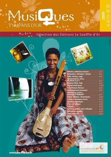 musiques 2009.pdf - Le Souffle d'Or