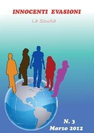 Innocenti Evasioni n.3 - La scuola - Treviso volontariato