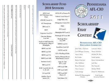 Scholarship Contests & Sweepstakes