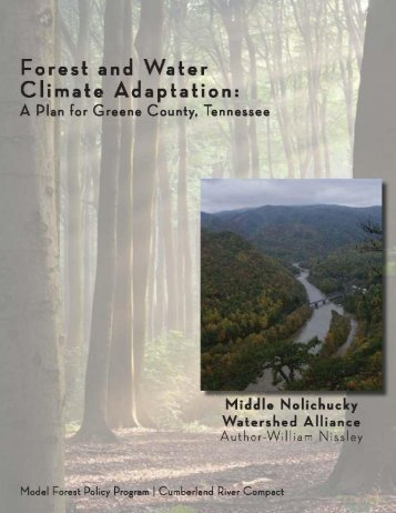 View the Adaptation Plan - Model Forest Policy Program