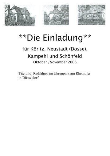 Nr.11 (Okt.,Nov. 2006) - Ritter von Kalebuz