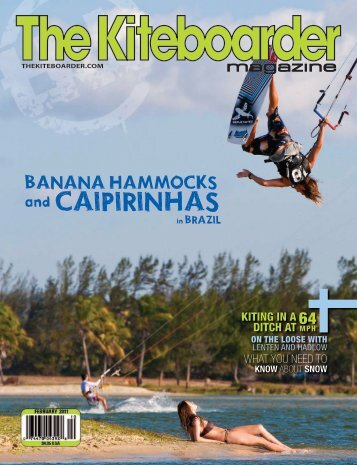 Banana Hammocks - The Kiteboarder Magazine