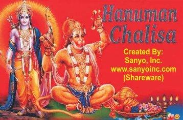 hanuman chalisa.cdr - Sanyo, Inc.