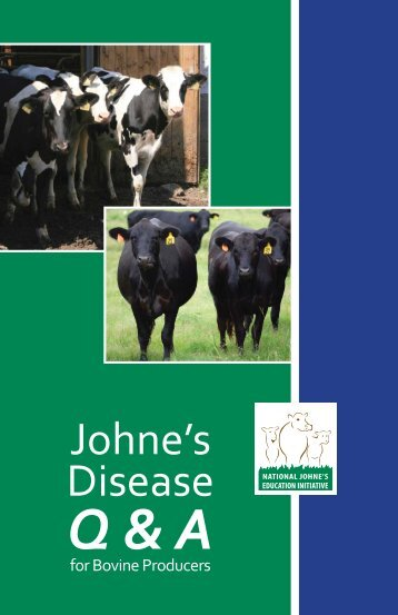 to download the pdf - Johne's Information Central