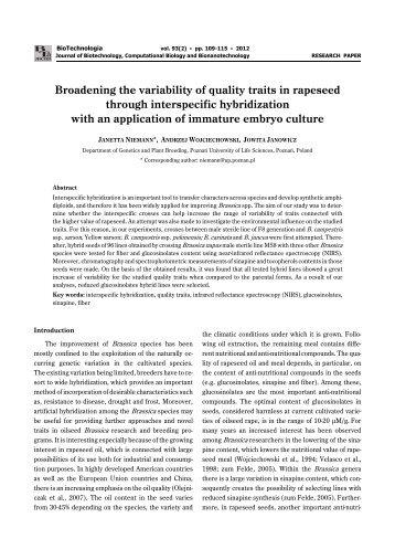 p.109 - BioTechnologia