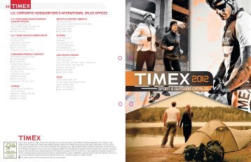 TIMEX® IRONMAN® timepieces are designed to bring state