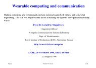 Wearable computing and communication