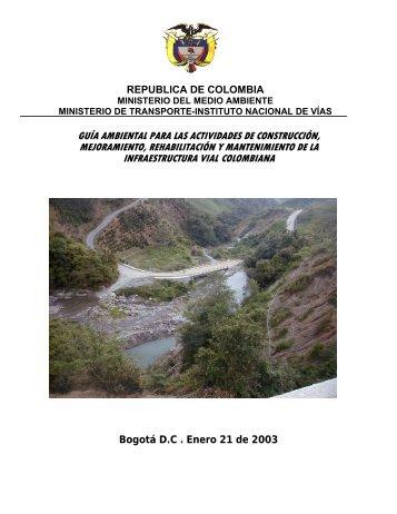Guía ambiental para las actividades de construcción ... - Cortolima