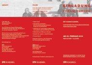Download Einladungskarte - Europa im Gespräch