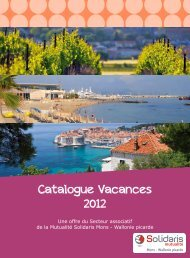 Catalogue Vacances 2012 - Visualis