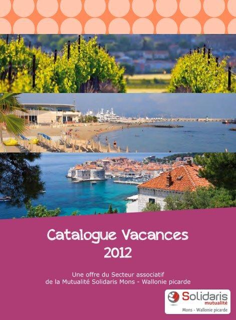 Catalogue Vacances 2012 - Visualis