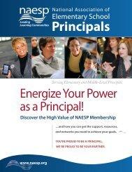 member benefits brochure - National Association of Elementary ...