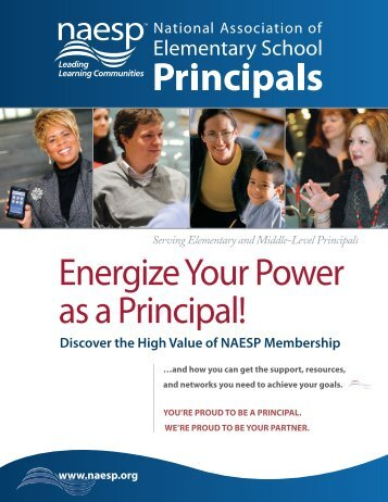 member benefits brochure - National Association of Elementary ...