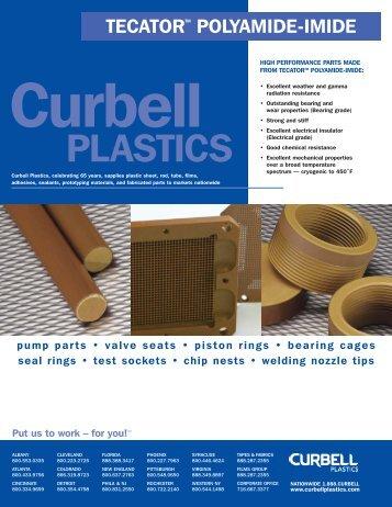 TECATOR™ Polyamide-imide Line Card - Curbellplastics.com