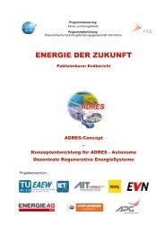 Konzeptentwicklung für ADRES - EA