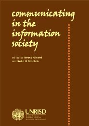 Communicating in the Information Society - Comunica