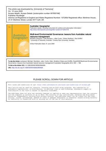 PDF Version - Charles Sturt University