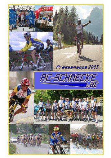 Pressemappe 2005 - RC Schnecke