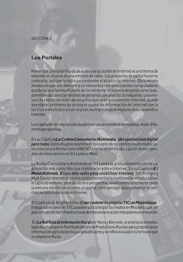 Los Centros Comunitarios Multimedia - Comunica