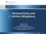 ICAO Annex 9 - Bali Process