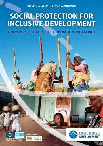 social protection for inclusive development - ERD - European ...