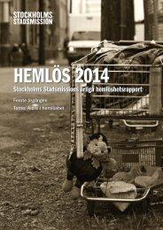 Hemlös 2014