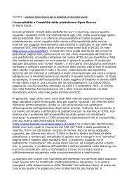 Open Source e accessibilità - Mario Rotta