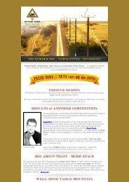 Newsletter for December 2011 - JB Train Tours