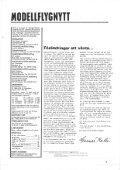 Page 1 ORGAN F'O'R SVERIGES I MODELLFLYG F'ORBUND Page ... - Page 3
